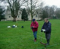 Resistivity Survey at Dunstable Priory